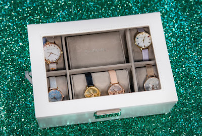Stackers watch box to store my collection of Olivia Burton watches