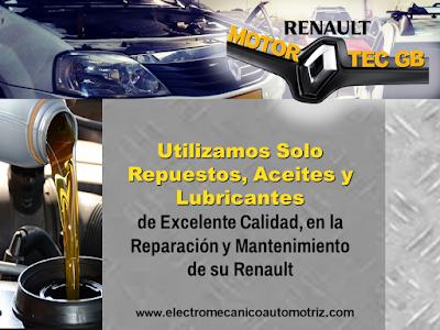 Cambio de Aceite Renault