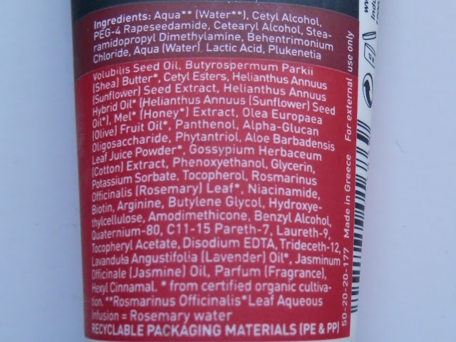 ingredientes propoline mascarilla teñido girasol miel