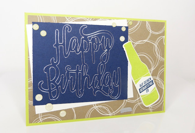 Karte mit GoPress and Foil