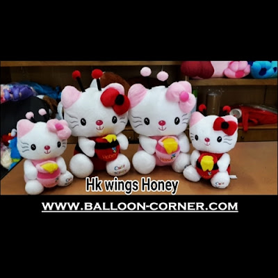 Boneka HELLO KITTY Wings Honey (Ukuran S, M,)
