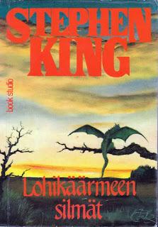 Stephen Kingin fantasiaromaanista Lohikäärmeen silmät tulossa tv-sarja