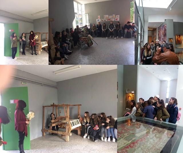 """Διδακτική επίσκεψη στο Αρχαιολογικό Μουσείο Ηγουμενίτσας και στον Σύλλογο """"Ρένα Κώτσιου"""""""