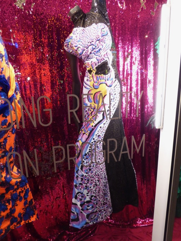 RuPauls Drag Race season 9 leopard gown