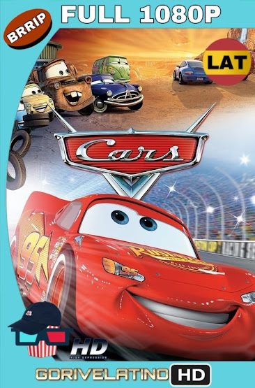 Cars (2006) BRRip 1080p Latino-Ingles MKV
