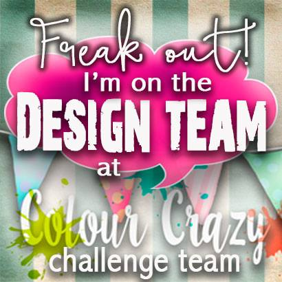 Proud to design for Colour Crazy Challenge