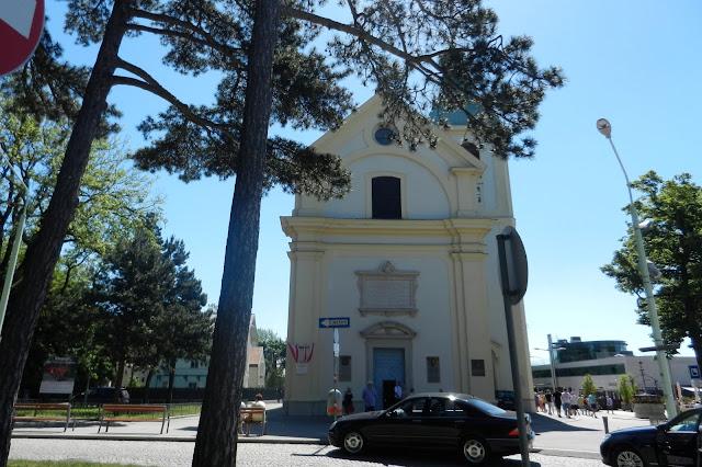 Kościół św. Józefa na wzgórzu Kahlenberg