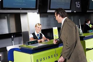 Регистрация пассажиров в аэропорту