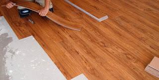 pemasangan lantai kayu vinyl