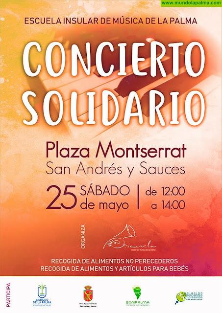 La Escuela Insular de Música celebra este sábado un concierto solidario en San Andrés y Sauces