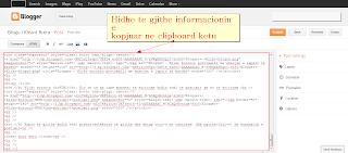 Blogger - Hidh informacionin e kopjuar ne clipboard ne kuadratin e postimit