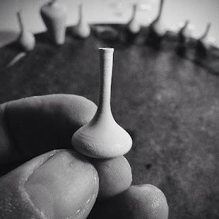 Jarrón miniatura hecho a mano
