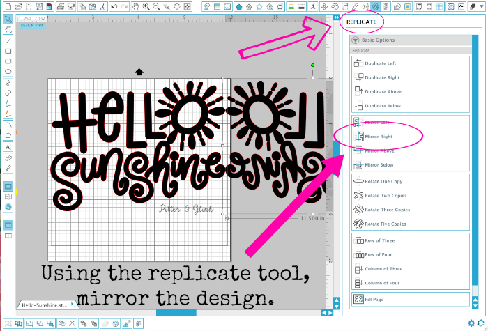 How to Mirror a Design