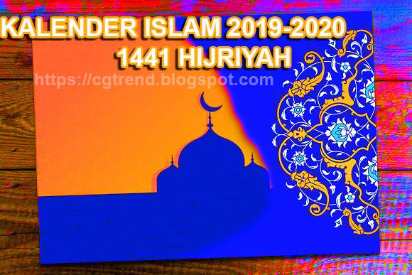 Kalender Islam Tahun Hijriyah 1441 20192020 Trending Topic