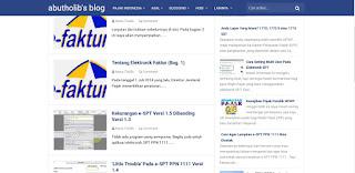 template blog baru arlina design 2016