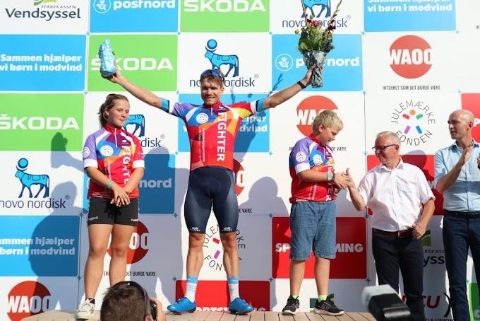 Planet ganó el maillot al más combativo en el PostNord Danmark Rundt