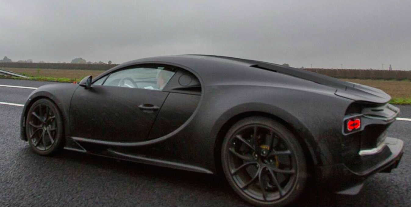 Bugatti Chiron, The Veyron Successor Spied While On Testing