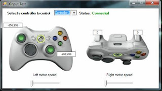 Xinput controller 2 Connected