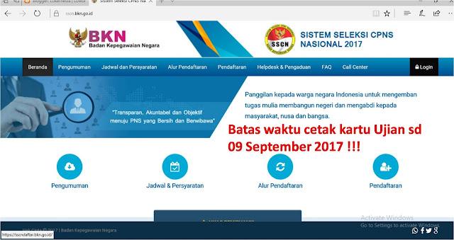 Link unduh hasil seleksi CPNS Kemenkumham