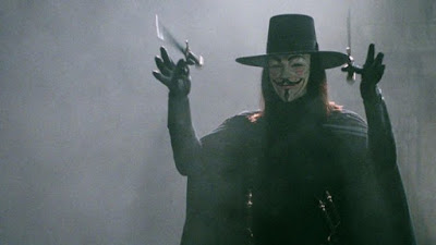 V For Vendetta - Sekitar Dunia Unik
