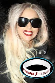 Lady Gaga We Pray For Japan