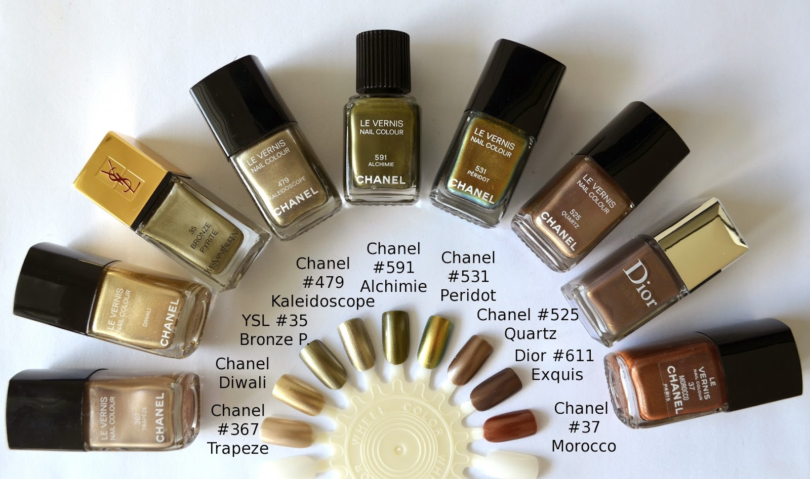 Chanel Le Vernis 591 Alchimie From Superstition Fall 2013 Collection Color Me Loud