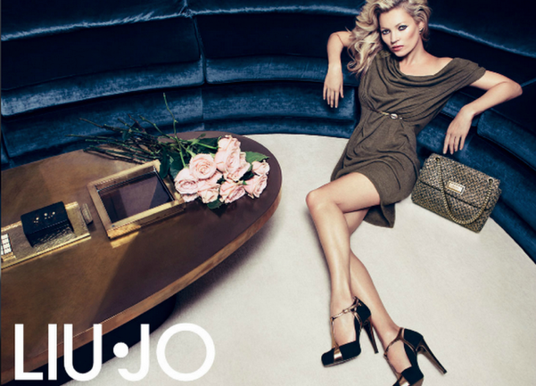 GODUSTYLE  LIU JO Colección Otoño-Invierno 2012 2013. KATE MOSS for ... d33957670ae