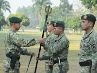 Komandan Yonif Para Raider 502 Kostrad Pimpin Serah Terima Jabatan Danki
