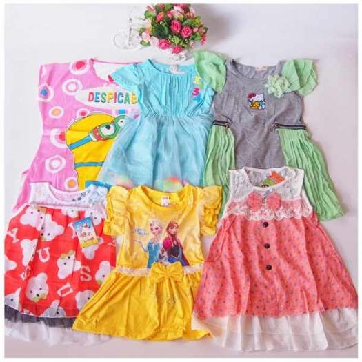 paket sampel import 195 detail 2 produsen agen distributor grosir baju anak murah mulai 5000,Baju Anak Anak Termurah
