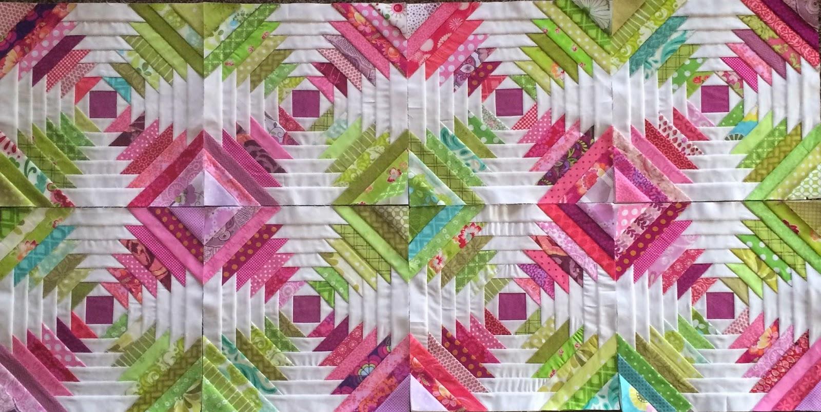 A Little Bit Biased Pineapple Block Paper Piecing Tutorial