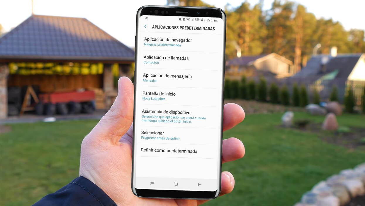 Cómo configurar aplicaciones predeterminadas en Android