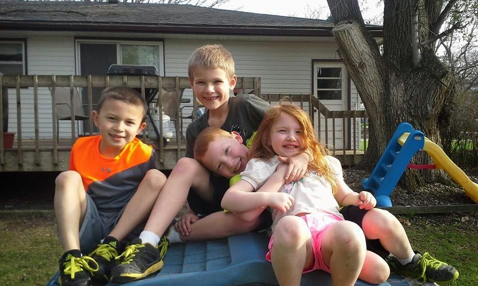 The Bailey Family: Little boys