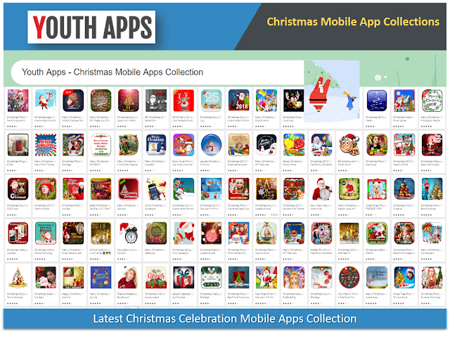 Latest Christmas Celebration Mobile Apps Collection - Youth Apps