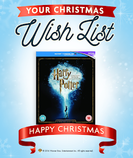 Harry Potter Christmas Wish List Graphic