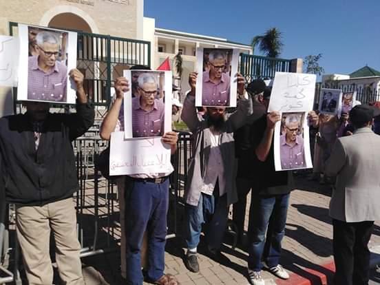 استمرار الاحتجاجات السلمية المطالبة بإطلاق سراح محمد كوثر