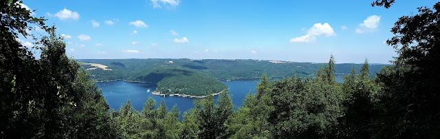 Rursee view from Nationalpark Eifel