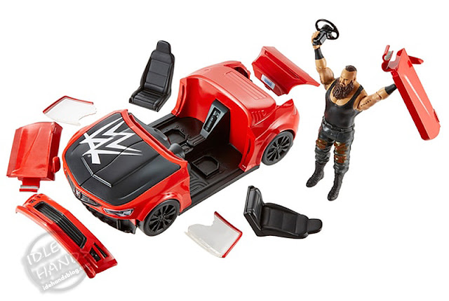 Mattel WWE Wrekkin Slam Vehicle Playset 001