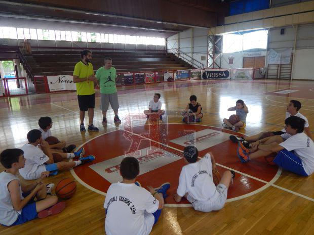 Διασκέδαση και μάθηση ....!! Με το Total Basketball Development που δημιουργήθηκε από τον προπονητή του Α.Ο. Ένωση Ιλίου Τάκη Πανούλια