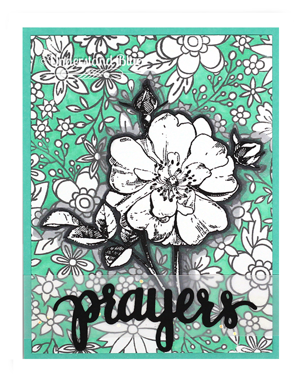 Hero Arts Prayers Card by Understand Blue