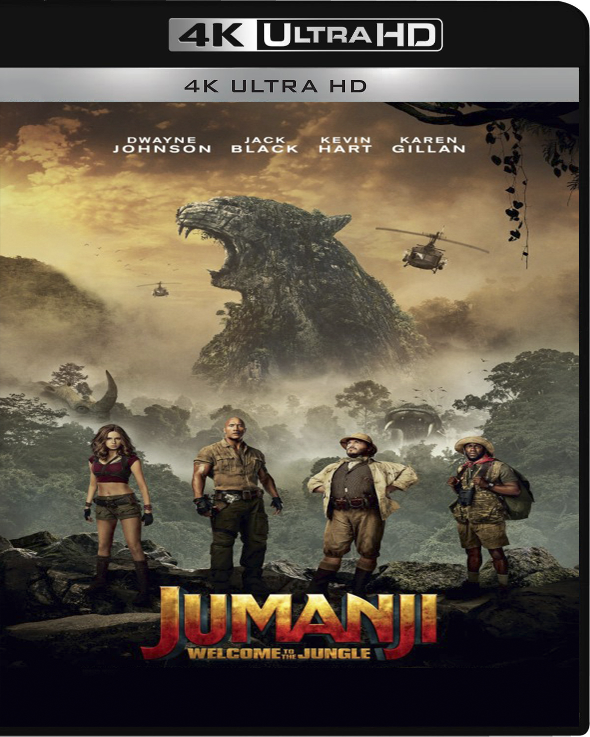 Jumanji: Welcome to the Jungle [2017] [UHD] [2160p] [Latino]