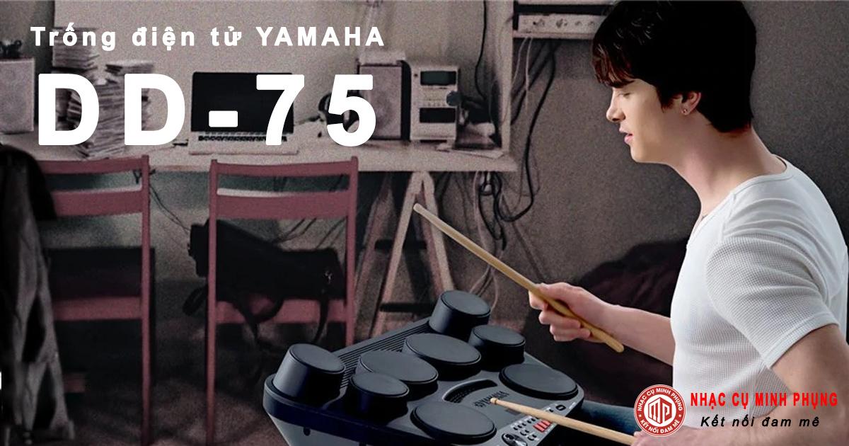 bộ trống điện tử yamaha dd75