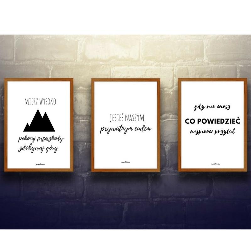 Darmowe Plakaty Z Napisami Plakatówka