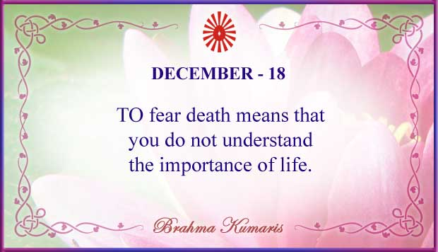 Thought For The Day December 18
