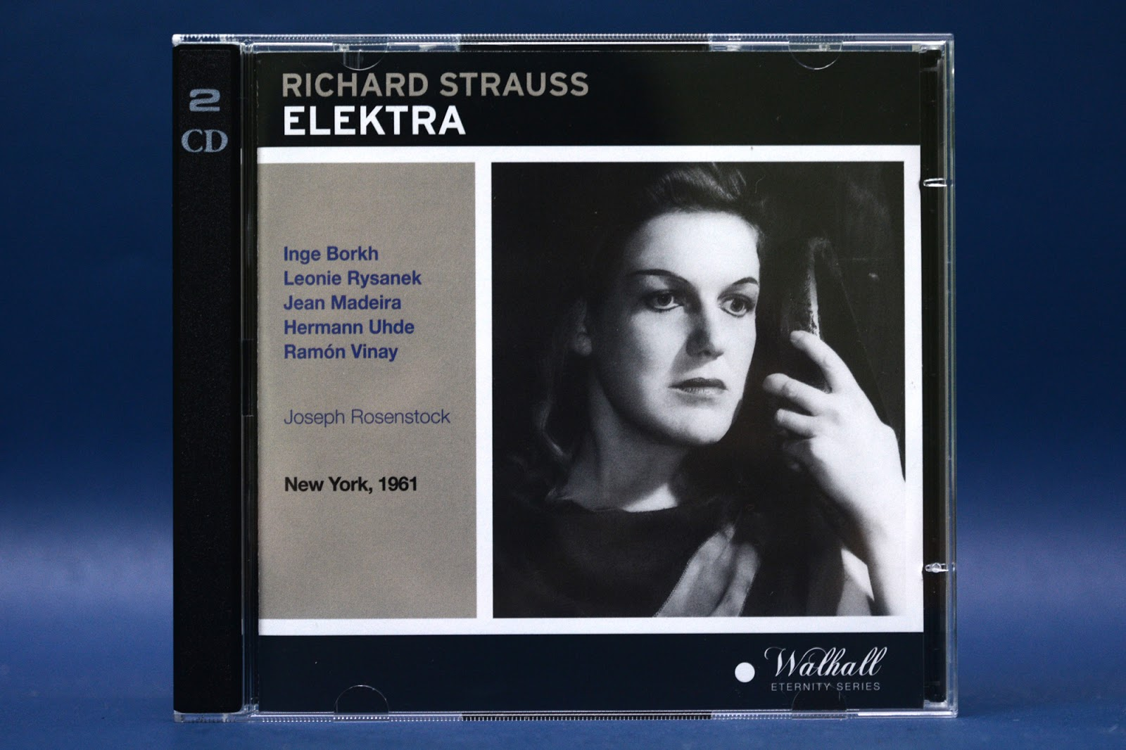 Inge Borkh, Leonie Rysanek and Jean Madeira In Strauss' 'Elektra', Metropolitan Opera 1961