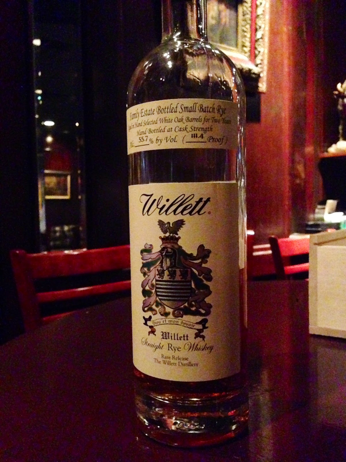 Willett 2 Year Rye