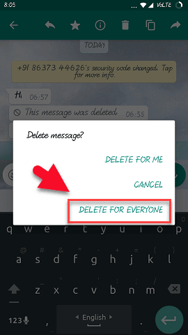 whatsapp-chat-message-delete-kaise-kare