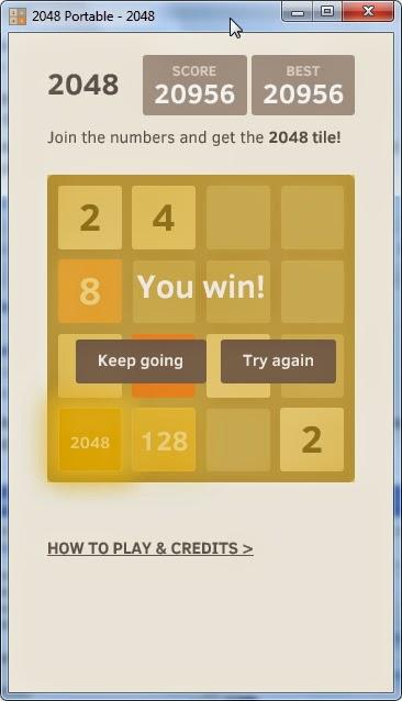 2048 tile-based game