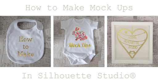 How to Make Mock Ups in Silhouette Studio.  Covers stock photos, adding texture, shadows, colorize tool and exporting as jpeg.  Tutorial by Nadine Muir for Silhouette UK blog