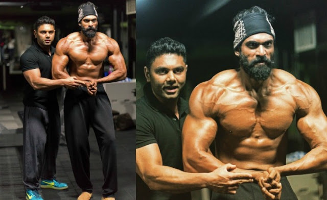 Awesome change over for Rana Daggubati in Baahubali 2