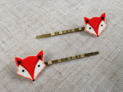 Fox Hair Pins